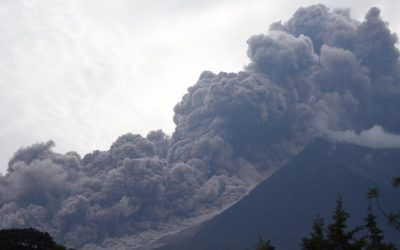 GenerEOS Announces First Beneficiary – The Guatemala Volcano Eruption