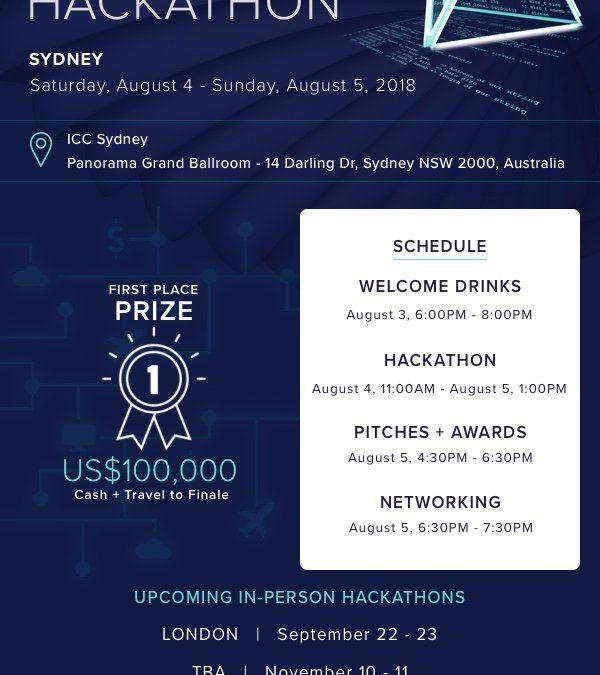 EOS.IO – Sydney Hackathon