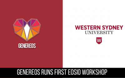 GenerEOS runs first Blockchain Workshop at Western Sydney University