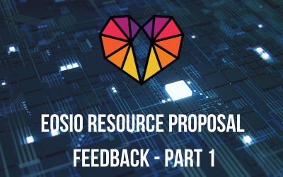 GenerEOS feedback on the proposed new EOS Resource Model – Part 1